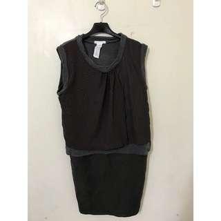 🚚 原價貴貴 針織毛料背心裙洋裝 SM小L 質感非常讚 大推薦 買到賺到喔😄