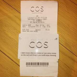 $175 COS Gift Card