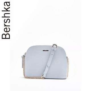 Bershka Sling Bag / Grayish Blue