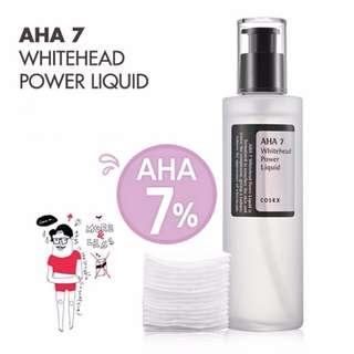 現貨📦包郵📦COSRX 天然果酸祛白頭超能水 AHA 7 Whitehead Power Liquid 100ml