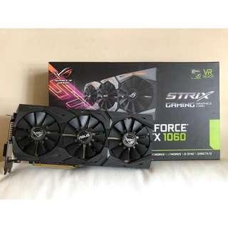 Asus ROG Strix GTX 1060 6GB / GTX1060