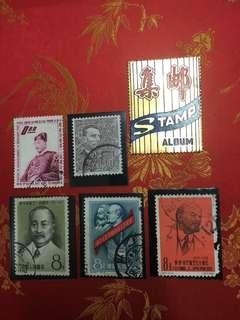 60年代名人郵票