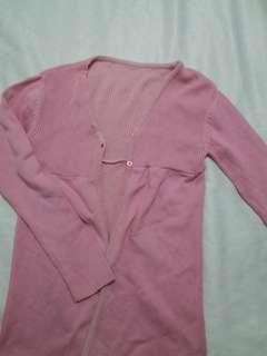 Knitted jacket / coat
