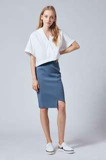 Our Second Nature Asymmetrical Pencil Skirt