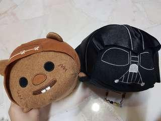 BRAND NEW Star Wars Plushies Tsum Tsum Limited Edition