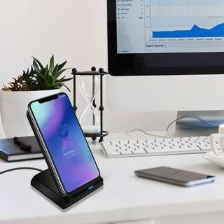 10W雙線圈快速無線充電器/10W Qi Double Coils Fast Wireless Charger