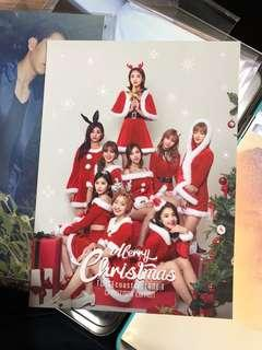 [LAST] Twice Twicecoaster Christmas Edition Lane 1 Postcard