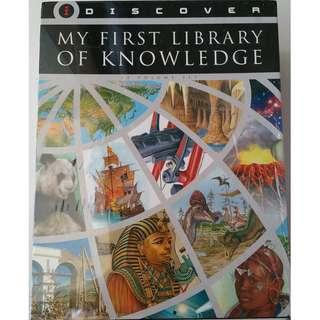 Book set - I Discover - Library of Knowledge (12 Volumes)
