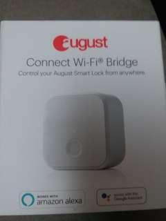 August connect wifi bridge