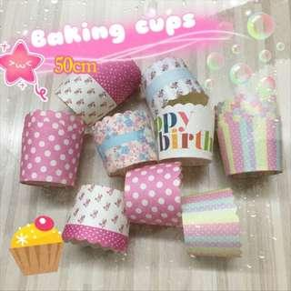 (Clearance) 50mm Baking Cups 100pcs