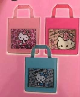 🚚 (全新)hello kitty 折疊收納旅行袋