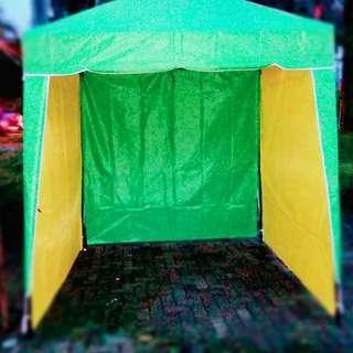 Ready stok tenda cafe dan tenda lipat untuk lapak jualan,siap antar jabodetabek dan pembayaran bisa di tempat pemesan.