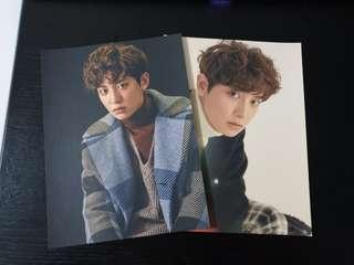 Chanyeol For Life Ice Tray Postcard Set