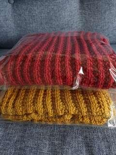 Winter Scarf (Ready stock: Red & Yellow)