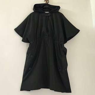 🚚 斗篷式連㡌洋裝