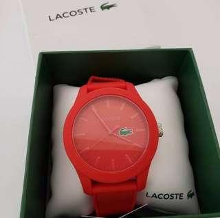 LACOSTE Silicone Watch