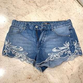 Pull & Bear Denim Shorts