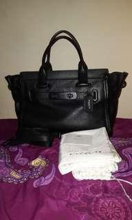 Coach swagger 33 blackmatte very good condi