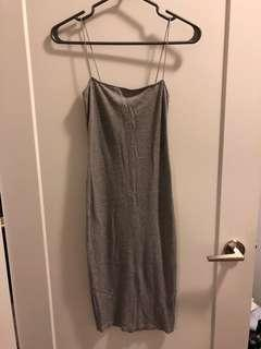 Grey Forever 21 Stappy Dress