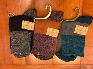 (包郵)韓國金銀絲棉襪
