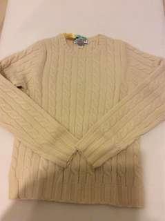 GAP Sweater 厚乳白色毛衣