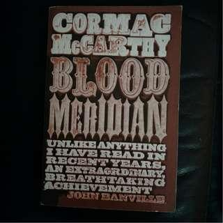 Pre - Loved Blood Meridian by Cormac McCarthy [Paperback]