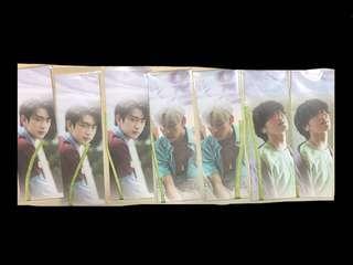 Got7 Present You Lullaby Bookmark PO Benefit - Jinyoung Bambam Yugyeom