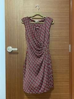 Promod Retro Wrap Dress