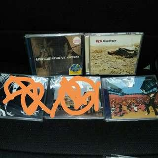 UNKLE James Lavelle Chemical Brothers RJD2 (pre owned CD albums)
