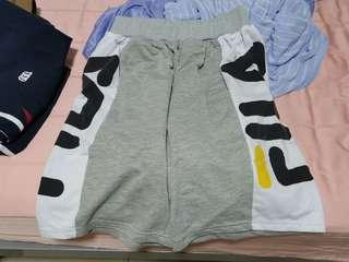 FILA grey shorts