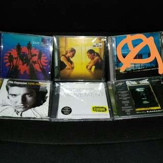 CD albums Elvis Presley Placebo Tribe Called quest Depeche Mode DJ Food DK Brand New Heavies