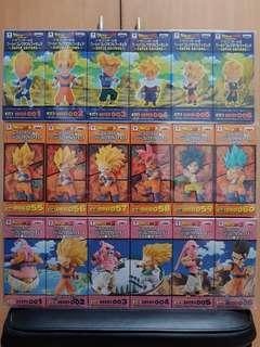 WCF PLASTIC BOXES Dragonball DBZ