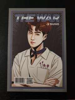 Suho The War Ver A Postcard