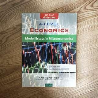 NEW A-Level Economics Model Essays in Microeconomics