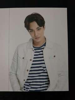 Kai EXO Love Concert in Dome Postcard