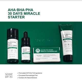Some by Mi AHA BHA PHA 30days Miracle Starter Kit