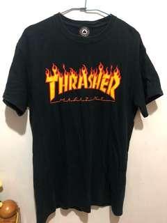 🚚 Thrasher 火焰tee 🔥