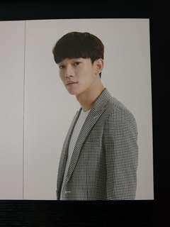 Chen EXO Love Concert in Dome Postcard