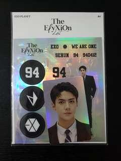 ElyXiOn dot Sehun Sticker set