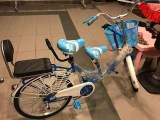 Parent child bicycle