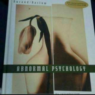 🚚 Abnormal Psychology An Introduction 2nd Ed By Durand And Barlow