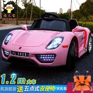 Pink Porsche McLaren Rechargeable Ride On Car