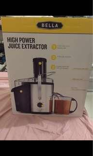 Bella High powered Juice extractor