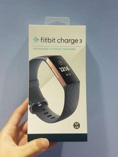 Fitbit Charge 3 - Rose Gold / Blue Grey