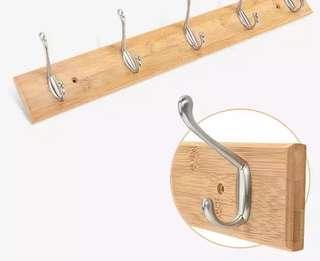 木+鋅合金掛鈎(不生銹)