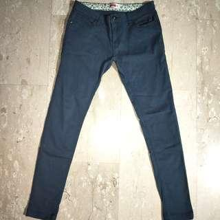 Bench Turquoise Green Pants, Size 28