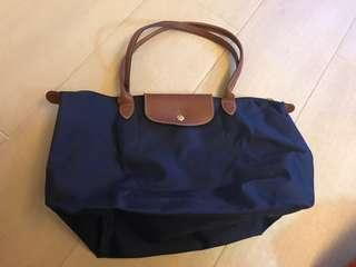Longchamp bag (dark blue) 90%new