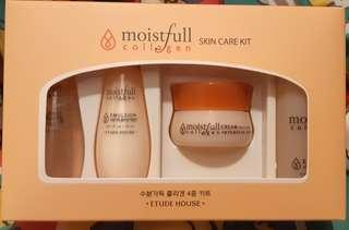 Etude House Collagen Moistfull Skin Care Kit (4pcs)
