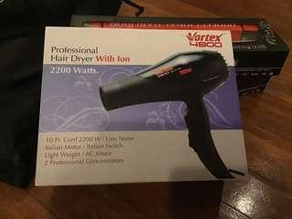 PROFESSIONAL HAIR DRYER WITH ION