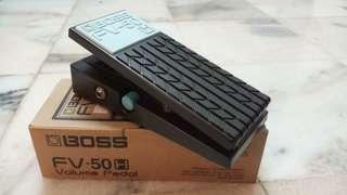 Boss FV50 volume pedal